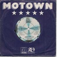 45T. DIANA ROSS. Upside Down  -  Friend To Friend.  Disque MOTOWN - Disco & Pop