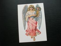 ANGELO ANGEL CON CORNO DI FIORI - Angeli