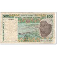 Billet, West African States, 500 Francs, 1992, KM:110Ab, B - Estados De Africa Occidental