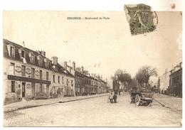 Dept 91. ESSONNES. Boulevard De Paris. Petite Animation ++. - Essonnes