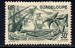 GUADELOUPE - 134** -  EXPOSITION INTERNATIONALE DE PARIS - Guadeloupe (1884-1947)