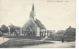 DPT 27 Marcilly La Campagne L'Eglise Rrare CPA Bon étar - Autres Communes
