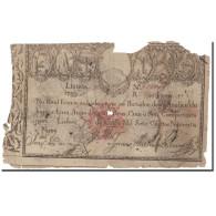 Billet, Portugal, 10,000 Reis, 1799, KM:41b, AB+ - Portugal
