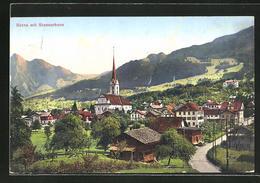 CPA Kerns, Ortsblick Avec Stanserhorn - OW Obwalden