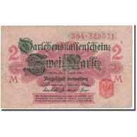 Billet, Allemagne, 2 Mark, 1914-08-12, KM:54, B+ - [ 2] 1871-1918 : Impero Tedesco