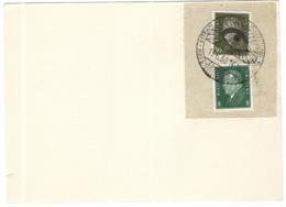 Deutsches Reich - 1930 - Dresden - International Hygiene Ausstellung 13.6.1930 - Fragment On Paper - Storia Postale