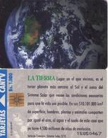 TARJETA TELEFONICA DE VENEZUELA. SISTEMA SOLAR 3/10, LA TIERRA, 09/95, CAN2-0090C. (489) - Espacio