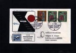 Germany/Deutschland 1963 Lufthansa First Flight Duesseldorf - Kuwait - Covers & Documents