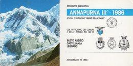 Spedizione Alpinistica ANNAPURNA III° - 1986 - - Alpinisme