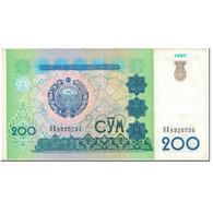 Billet, Uzbekistan, 200 Sum, 1997, Undated (1997), KM:80, TTB - Uzbekistán
