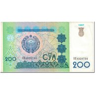 Billet, Uzbekistan, 200 Sum, 1997, Undated (1997), KM:80, TTB - Uzbekistan