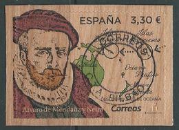 ESPAGNE SPANIEN SPAIN ESPAÑA 2018 Discoverers Of OceaniaDescubridores De Oceanía Alvaro De Mendaña Y Neira USED ED 5245 - 1931-Tegenwoordig: 2de Rep. - ...Juan Carlos I