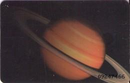 TARJETA TELEFONICA DE VENEZUELA. SISTEMA SOLAR 6/10, SATURNO, 10/95, CAN2-0094-2. (484) - Espacio