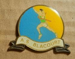 PIN * A. S. Blacourt - Athletics