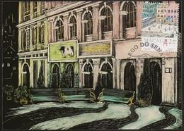 CARTE MAXIMUM - MAXIMUM CARD - Macau Macao China Portugal 1995 - Largo Do Senado - Bilhete Postal - Ganzsachen