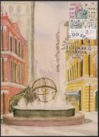 CARTE MAXIMUM - MAXIMUM CARD - Macau Macao China Portugal 1995 - Largo Do Senado - Bilhete Postal - Interi Postali