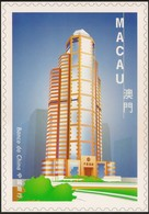 POSTAL MAXIMO - MAXIMUM CARD - Macau Macao Portugal 1999 - Obras E Edifícios Modernos - Modern Architecture- Banco China - Interi Postali