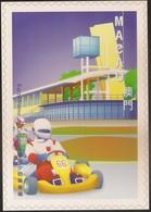 POSTAL MAXIMO - MAXIMUM CARD - Macau Macao Portugal 1999 - Obras Edifícios Modernos - Modern Architecture - Kartodromo - Macao