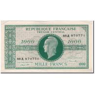 France, 1000 Francs, 1943-1945 Marianne, 1945, TTB+, Fayette:VF 12.1, KM:107 - Trésor