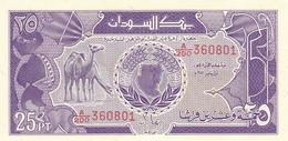Sudan - 25 Piastres 1987 - UNC - Soudan