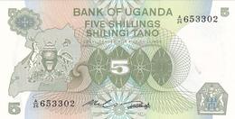 Uganda - 5 Shiling 1979 - UNC - Ouganda