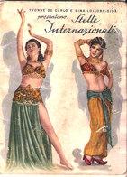 CALENDARIO BARBIERE STELLE INTERNAZIONALI 1954 - Calendars
