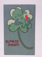 Art Nouveau - Carl Jozsa - Buon Anno - Donna Che Brinda - Illustratori & Fotografie