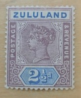 Zululand  - MH* - 1894-1896 - # 17 - Zululand (1888-1902)