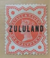 Zululand  - MH* - 1888-1893 - # 1 - Zululand (1888-1902)