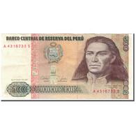Billet, Pérou, 500 Intis, 1987-06-26, KM:134b, SUP - Pérou