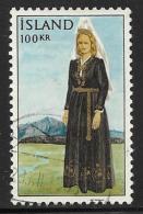 Iceland, Scott # 379 Used National Costume, 1965 - 1944-... Republik