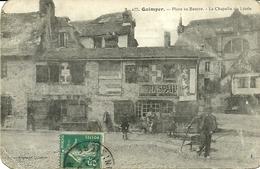 QUIMPER  -- Place Du Beurre, La Chapelle Du Lycée..                                      -- Villard  422 - Quimper