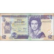 TWN - BELIZE 66e - 2 Dollars 1.11.2014 Prefix DM UNC - Belize