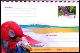 2864  Parrots - Perroquets - Reptils -  Postal Stationary 2018 - Unused - 2,25 - Perroquets & Tropicaux