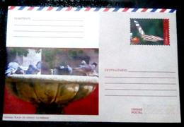 14662  Pigeons -Butterflies - Papillons -  Postal Stationary 2018 - Unused - 2,25 - Duiven En Duifachtigen