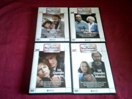 LES PLUS GRANDS FEUILLETONS DE LA TELEVISION FRANCAISE   °°  LES GRANDES MAREES  4 DVD - Séries Et Programmes TV