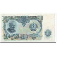 Billet, Bulgarie, 200 Leva, 1951, Undated (1951), KM:87a, SUP+ - Bulgarie