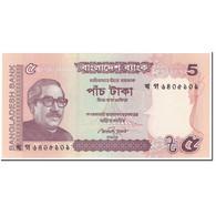 Billet, Bangladesh, 5 Taka, 2012, Undated (2012), KM:53b, NEUF - Bangladesh