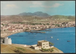 Postal Cabo Verde - Cape Verde - Ilha De S. Vicente - Cidade Do Mindelo - Vista Parcial Da Cidade - Postcard - Cap Vert