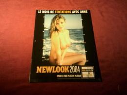 NEWLOOK 2004 12 MOIS DE TENTATIONS AVEC ANNE - Calendars