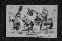 Carte Satyrique : Le Triomphe D'ARMAND - Humour
