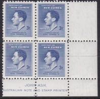 New Guinea 1937 Coronation Sc 49 Mint Never Hinged John Ash Imprint - Papouasie-Nouvelle-Guinée