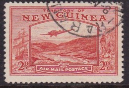 New Guinea 1939 Airmail Sc C49 Used - Papúa Nueva Guinea