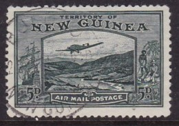 New Guinea 1939 Airmail Sc C52 Used - Papúa Nueva Guinea