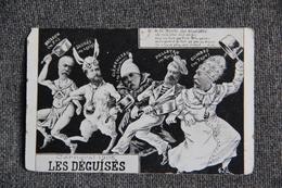 Satyrique : Carnaval 1905 - LES DEGUISES. - Humour