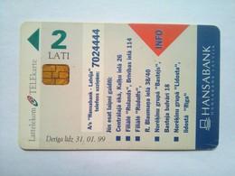 Hansa Bak 2 Lati - Latvia