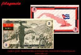 NOTAFILIA. CUBA 1958. BONO DEL MOVIMIENTO 26 DE JULIO. 2.00 PESOS. CON SELLO - Cuba
