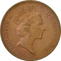 Monnaie, Grande-Bretagne, Elizabeth II, 2 Pence, 1985, TB+, Bronze, KM:936 - 1971-… : Monnaies Décimales