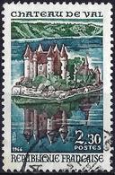 France 1966 - Castle Of Val ( Mi 1565 - YT 1506 ) - Oblitérés