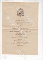 29106 CHINA 1937 HANKOW ANLU SUIHSIEN INVITATION LETTER CEREMONY BISHOP - Documenti Storici